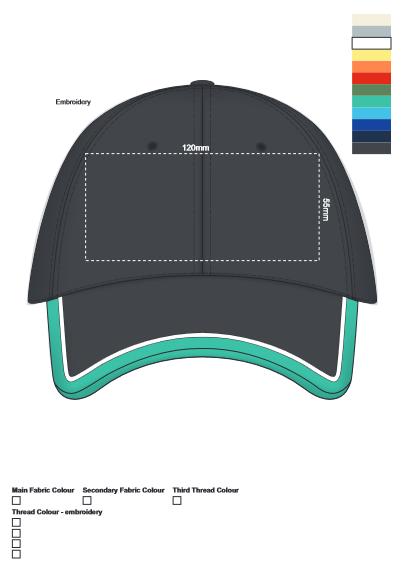 Apex Cap branding template