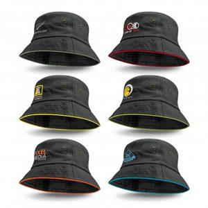 Bondi Bucket Hat Coloured Sandwich Trim