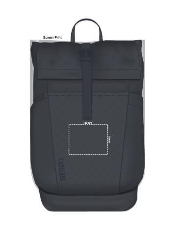 CamelBak Pivot Roll Top Backpack branding template