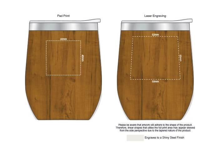 Cordia Heritage Vacuum Cup branding template