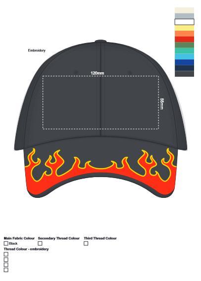 Diablo Cap branding template