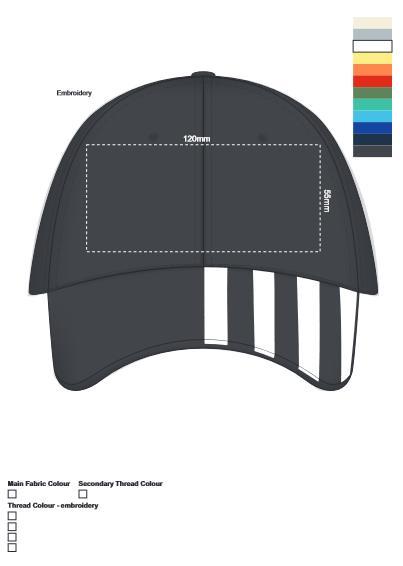 Linear Cap branding template