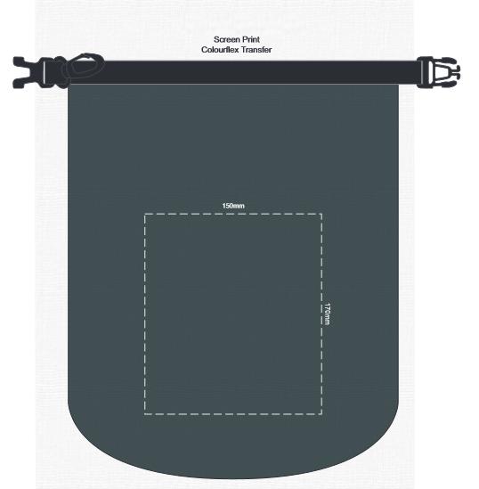 Nautica Dry Bag 5L branding template