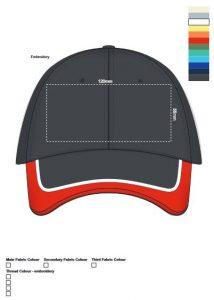 Oakland Cap branding template