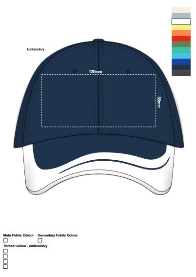 Oceania Cap branding template