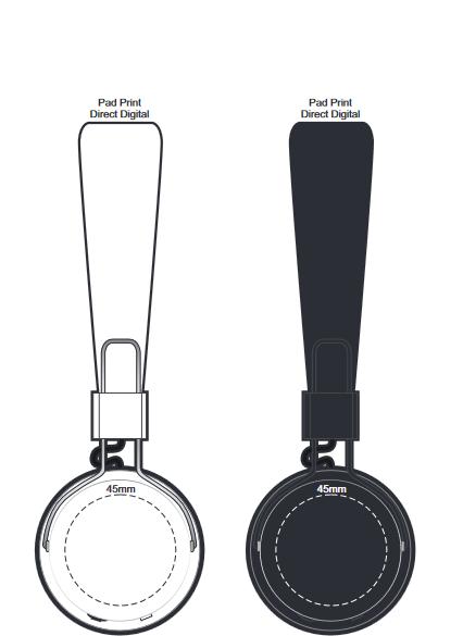 Opus Bluetooth Headphones branding template 1 1