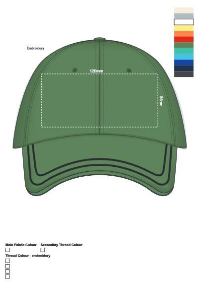 Tulsa Cap branding template
