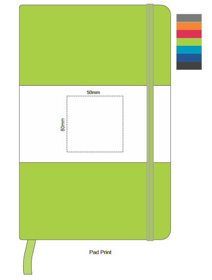 Alexis Notebook Branding Template