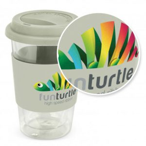 Aztec Double Wall Glass Cup digital print