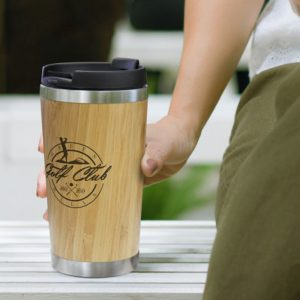 Bamboo Double Wall Cup feature