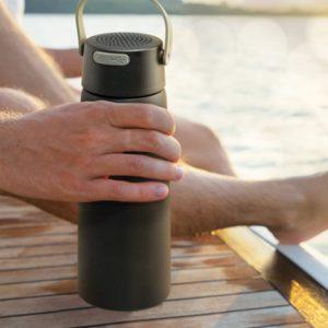 Bluetooth Speaker Vacuum Bottle feature
