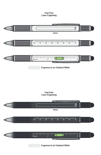 Concord Multi Function Pen branding template