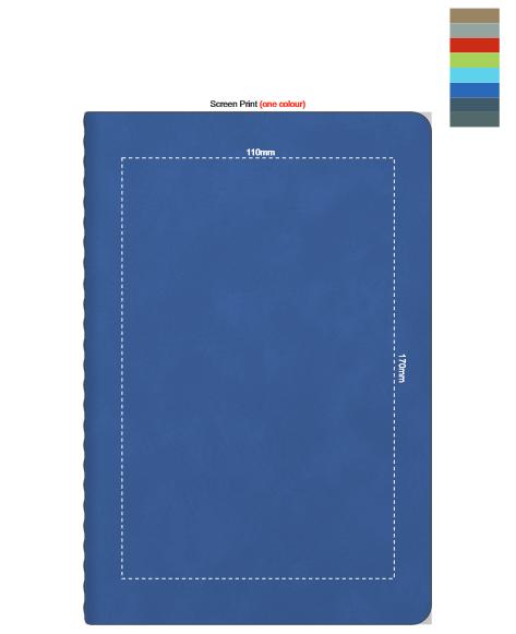 Elantra Notebook branding template 3