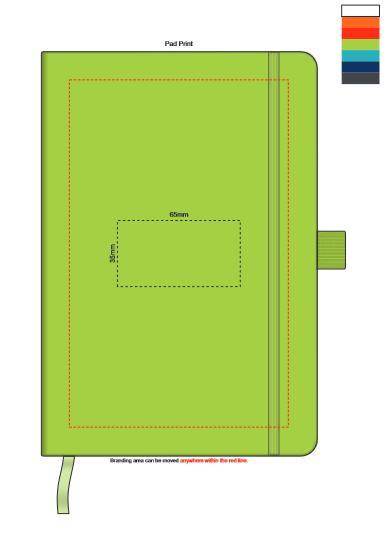Kingston Notebook branding template 2