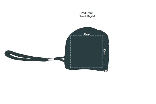 Locking Tape Measure branding template