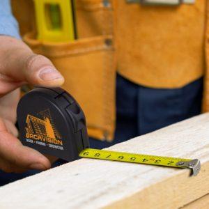 Locking Tape Measure feature