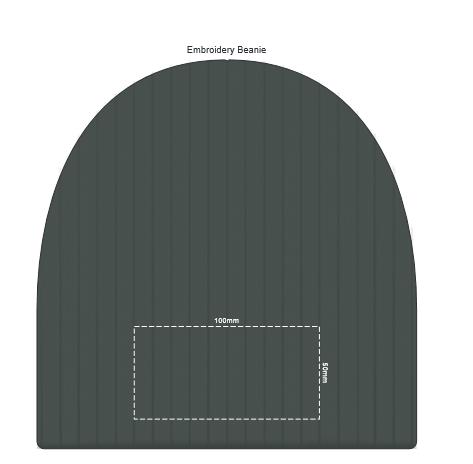 Nebraska Scarf and Beanie Set branding template