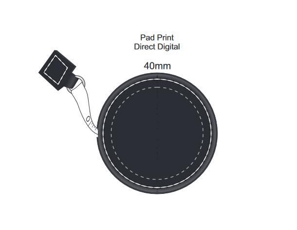 Presto Tape Measure branding template