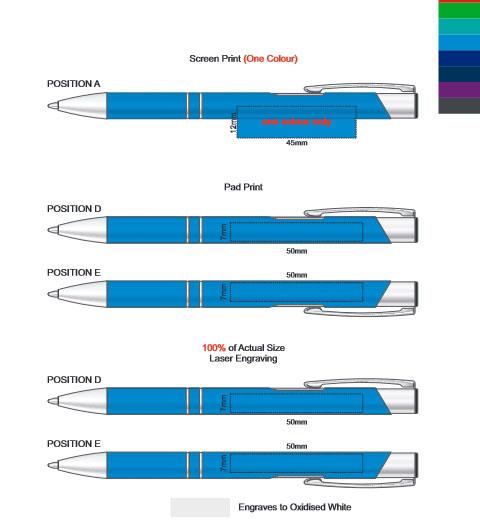 Panama Pen branding template